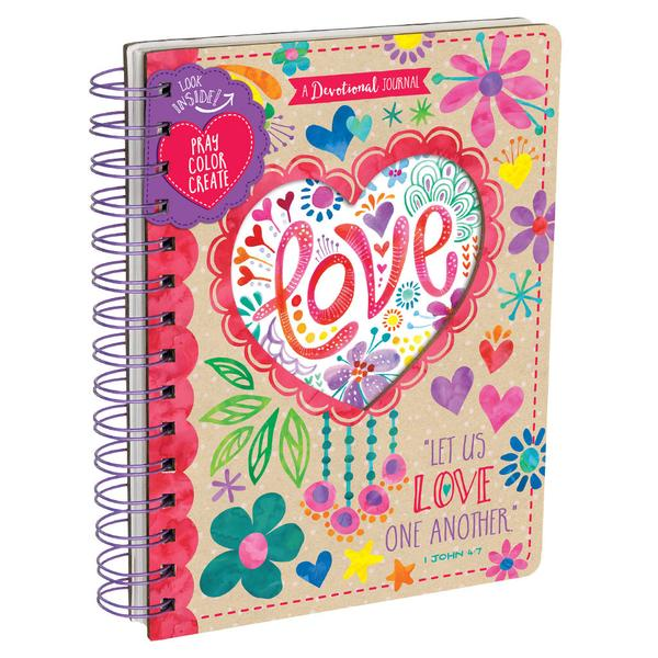 Love Devotional Journal - The Wee Believers Toy Company