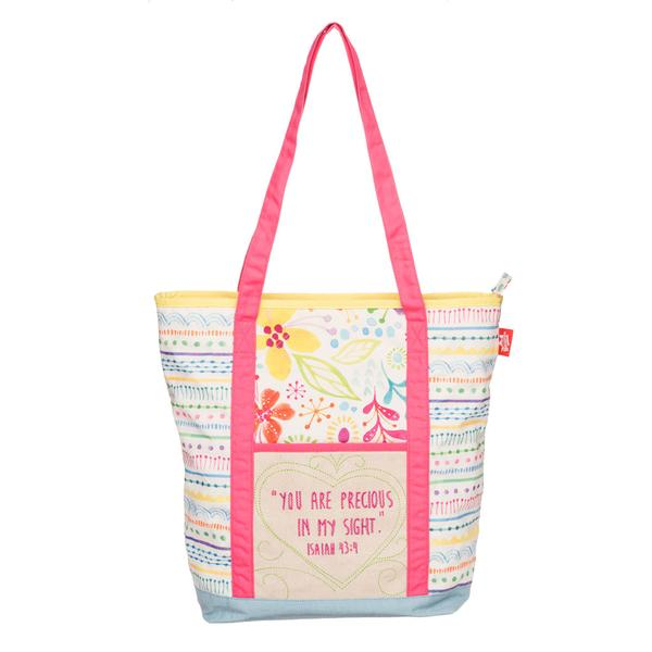 Precious Quilted Tote Bag - The Wee Believers Toy Company
