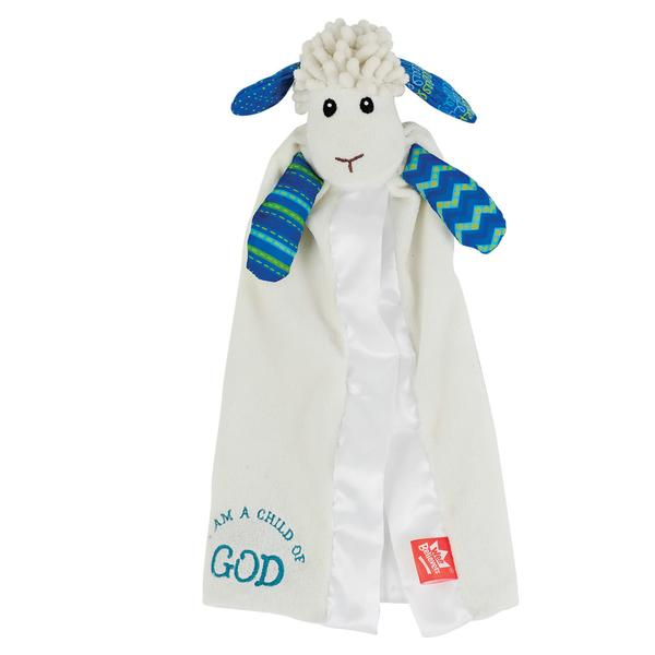 Levi the Little Lamb Lovie - The Wee Believers Toy Company