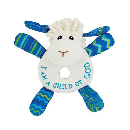 Levi the Little Lamb Rattle - The Wee Believers Toy Company