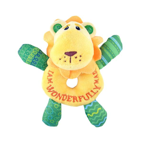 Luca the Lion Cub Rattle - The Wee Believers Toy Company
