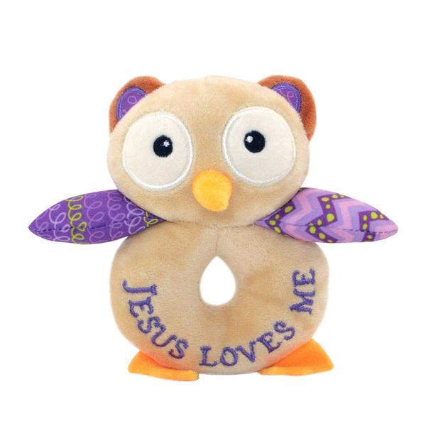 Opal the Owlet Rattle - The Wee Believers Toy Company