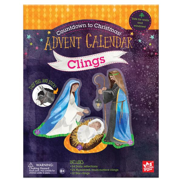 Advent Calendar Clings - The Wee Believers Toy Company