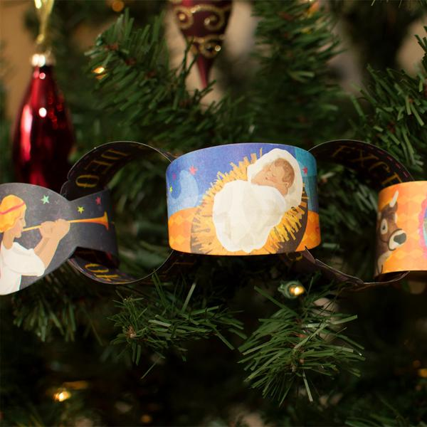 Nativity Paper Chains - The Wee Believers Toy Company