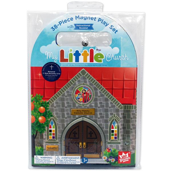 My Little Church Magnet Play Set - The Wee Believers Toy Company