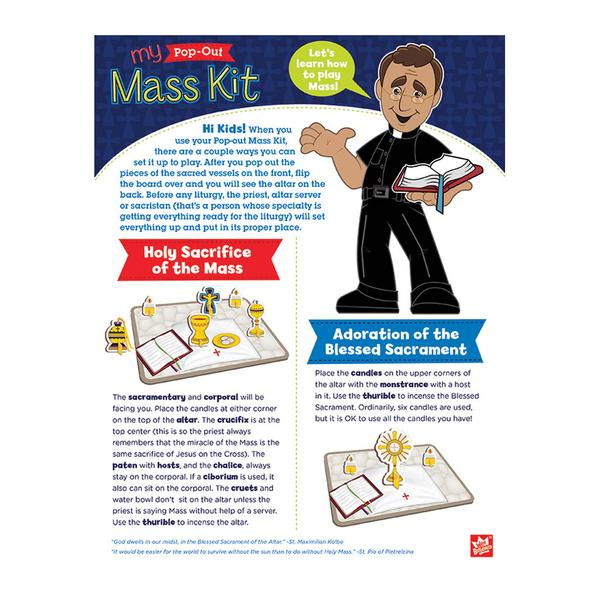 My Pop-Out Mass Kit - The Wee Believers Toy Company