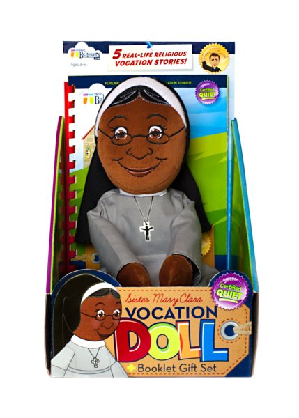 Sister Mary Clara Vocation Doll - The Wee Believers Toy Company