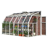Sun Room 2 by Rion 6 and 8 foot Lean-to - World of Greenhouses - 7