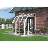 Sun Room 2 by Rion 6 and 8 foot Lean-to - World of Greenhouses - 3