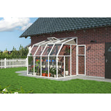 Sun Room 2 by Rion 6 and 8 foot Lean-to - World of Greenhouses - 5