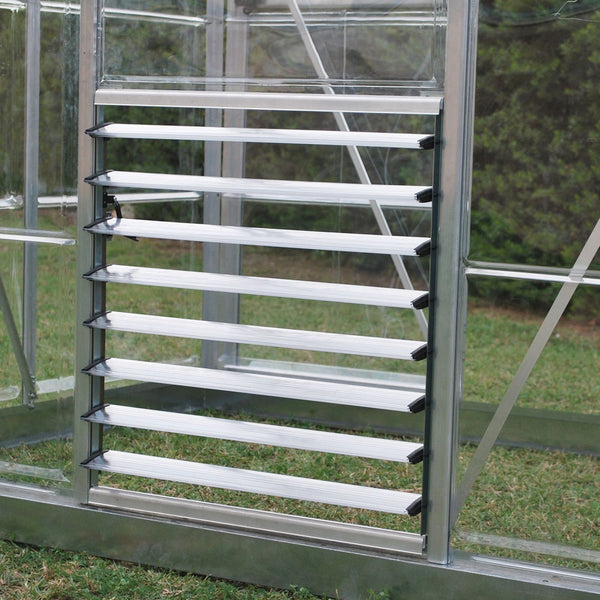 Palram Side Louver Window - World of Greenhouses - 1