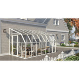Sun Room 2 by Rion 6 and 8 foot Lean-to - World of Greenhouses - 11