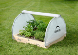 GROWIT® BACKYARD RAISED BED ROUND GREENHOUSE