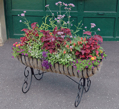 Classic Ironwork Cradle Planters - World of Greenhouses - 1