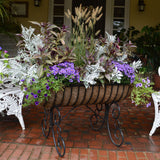 Classic Ironwork Cradle Planters - World of Greenhouses - 7