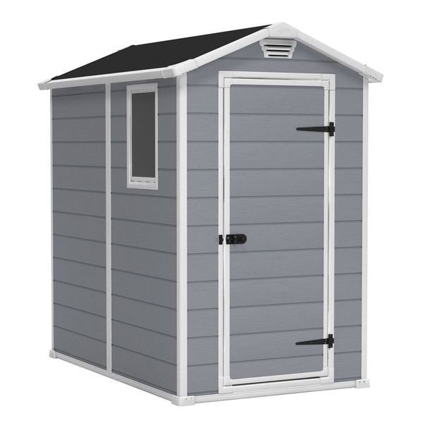 Manor 4-ft x 6-ft Storage Shed - World of Greenhouses - 1