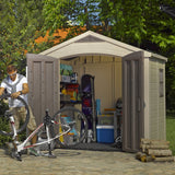 Factor 8-ft x 6-ft Storage Shed - World of Greenhouses - 6