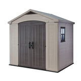 Factor 8-ft x 6-ft Storage Shed - World of Greenhouses - 1