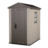 Factor 4-ft x 6-ft Storage Shed - World of Greenhouses - 1