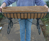 Classic Ironwork Cradle Planters - World of Greenhouses - 8