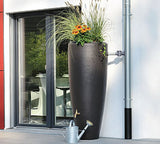 Graf Bullet Rain Barrel with Planter - World of Greenhouses - 2