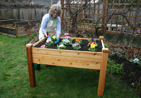 OLT Elevated Garden Bed 4'x3′ - World of Greenhouses - 1