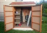 Maximizer 6x6  Cedar Storage Shed - World of Greenhouses - 2