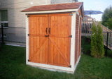 Maximizer 6x6  Cedar Storage Shed - World of Greenhouses - 3