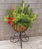 Classic Ironwork Urn Planter - World of Greenhouses - 1