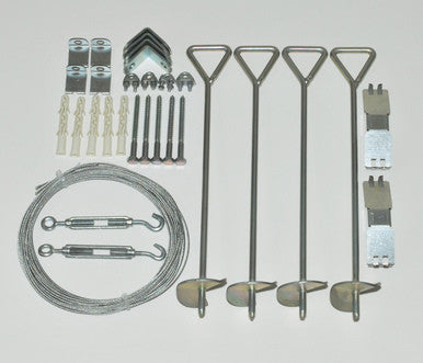 Anchor Kit for Palram  Greenhouses - World of Greenhouses - 1