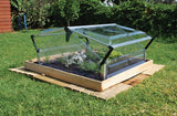 Palram Double Cold Frame - World of Greenhouses - 3