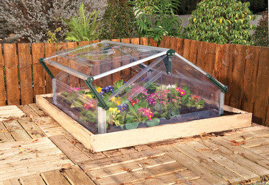 Palram Double Cold Frame - World of Greenhouses - 1