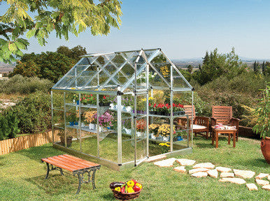 Snap & Grow 6 Foot Hobby Greenhouse 8- 16 Foot Length - World of Greenhouses - 1