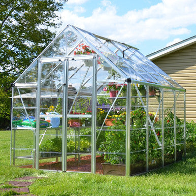 Snap & Grow 8 Foot Hobby Greenhouse 8-20 Foot length - World of Greenhouses - 1