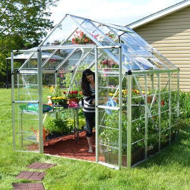 Snap & Grow 8 Foot Hobby Greenhouse 8-20 Foot length - World of Greenhouses - 2