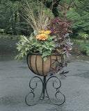 Classic Ironwork Urn Planter - World of Greenhouses - 4