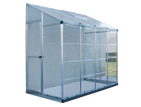 Hybrid 4x8 Lean To Greenhouse