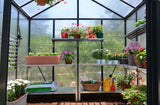 Glory Premium Hobby Grey Greenhouse 8 Feet Wide x 8-20  FeetLong - World of Greenhouses - 5