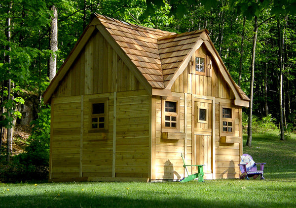 OLT Deluxe  Cedar Playhouse Kit 9×9