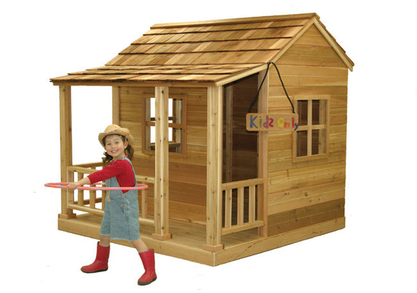 OLT Cedar Playhouse Kit  6×6