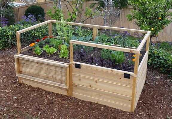 OLT Raised Garden Bed 6'x3' - World of Greenhouses - 1
