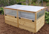 Raised Bed 6x3 Mini Greenhouse Kit - World of Greenhouses - 4
