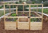 OLT Raised Garden Bed 8'x8' - World of Greenhouses - 7
