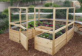 OLT Raised Garden Bed 8'x8' - World of Greenhouses - 6