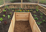 OLT Raised Garden Bed 8'x8' - World of Greenhouses - 4