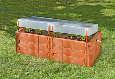 Raised Bed Cold Frame by Juwel - World of Greenhouses - 1