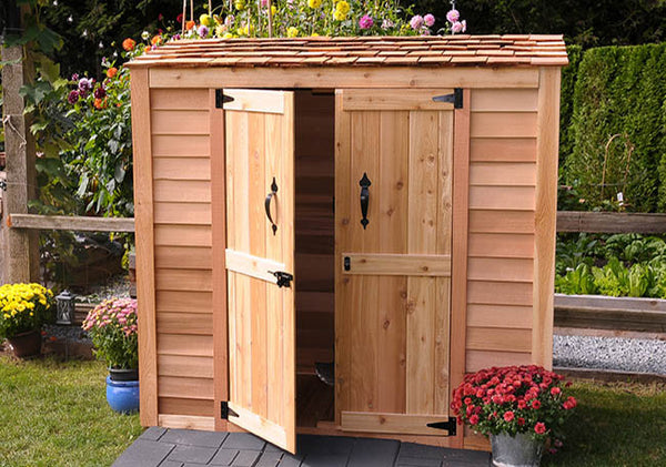 Grand Garden Chalet Shed 6'x3' - World of Greenhouses - 1