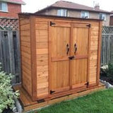 Grand Garden Chalet Shed 6'x3' - World of Greenhouses - 4