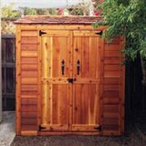 Grand Garden Chalet Shed 6'x3' - World of Greenhouses - 5