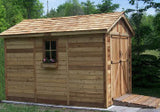 Space Maker 8'x12'  Storage Shed With Window - World of Greenhouses - 2